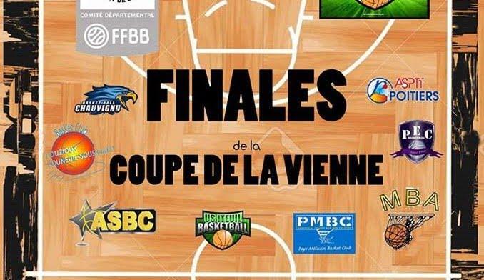 Basket86 : Finales Coupe de la Vienne ce week-end !