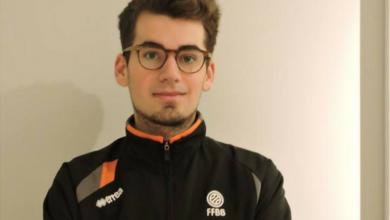 """Photo of Valentin Dehoux : """"Mon objectif à moyen terme est de devenir arbitre fédéral…."""""""