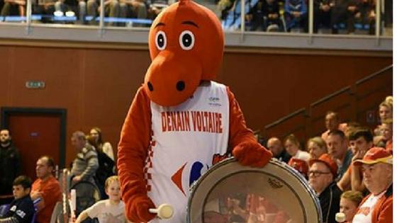 """Fabrice : """"J'ai décidé de jouer le rôle de mascotte au retour de l'Euro basket…"""""""