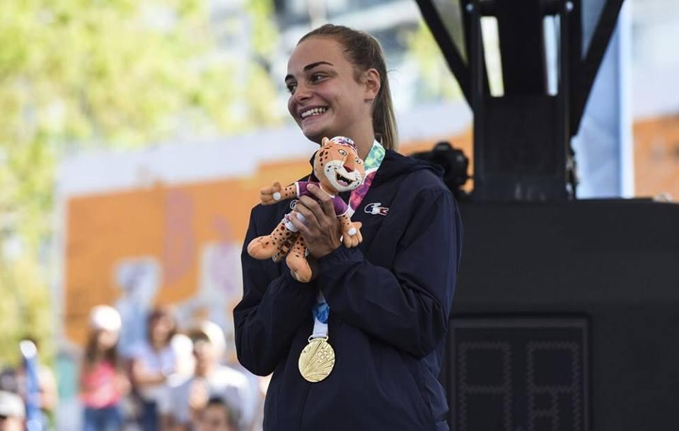 """Mathilde Peyregne : """"Je suis championne olympique, je n'arrive toujours pas à réaliser."""""""