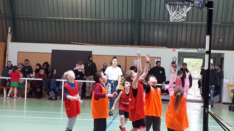 Plateau basket à Gençay !