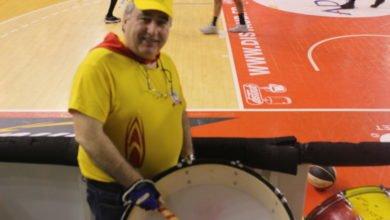 """Photo of Patrick Aubert : """"Je mets l'ambiance dans les tribunes en tapant sur les tambours…"""""""