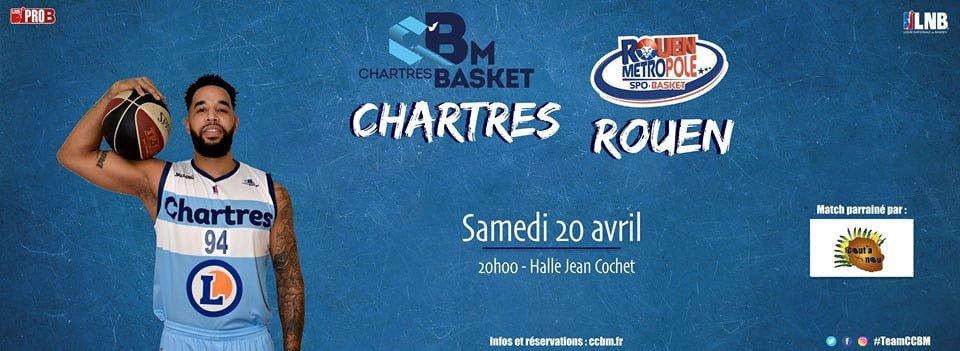 Live ProB : Chartres – Rouen en direct
