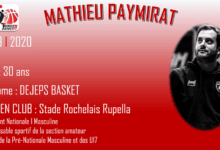 Photo of Mathieu Paymirat, nouveau coach du Thouars Basket 79 !