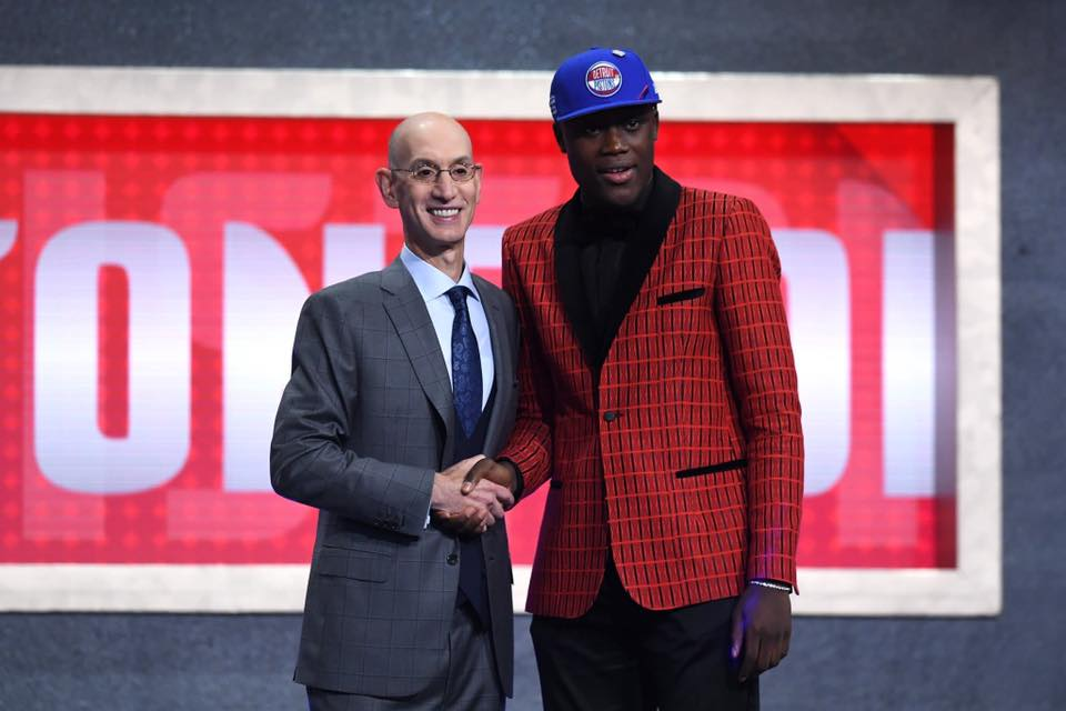 Sekou Doumbouya choisi par Detroit !