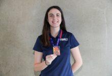 """Photo of Camille Hillotte : """"Pour moi, cette médaille de bronze représente beaucoup, surtout de la fierté…!"""""""