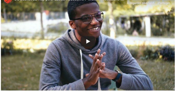 """Du basket au rap pour Lucas Koussawo : """"Mon objectif dans le rap est de …"""""""