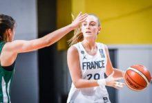 """Photo of Sara Roumy : """"Une grande fierté d'avoir été élue dans le cinq de l'EuroBasket U16 féminin."""""""