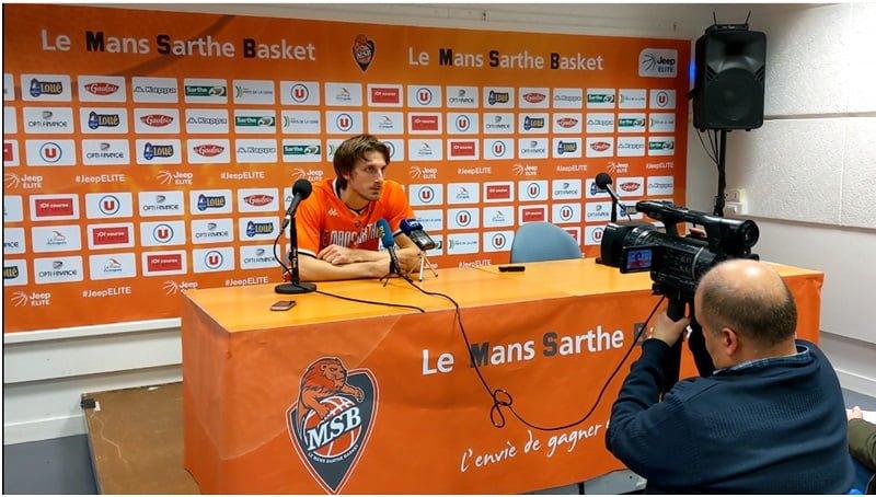 """Valentin Bigote : """"ll faut enchaîner cette performance comme face à Boulazac en étant régulier et ça sera très bien…"""""""