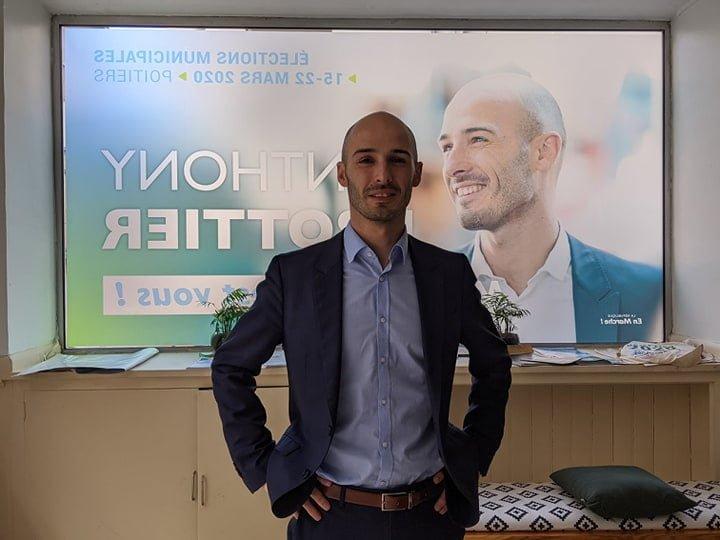 """Anthony Brottier  : """"Je suis très attaché au monde du sport, il y a une richesse associative et sportive importante à Poitiers…"""""""