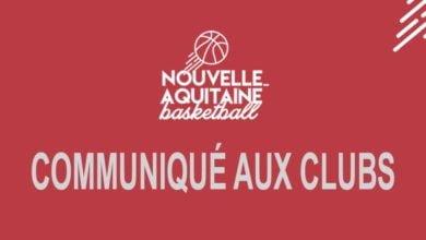 Photo of Ligue Nouvelle-Aquitaine : Communiqué aux clubs (2)