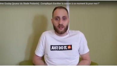 """Photo of Maxime Goulay (joueur du Stade Poitevin) : """"Compliqué d'arrêter la saison à ce moment là pour moi !"""""""