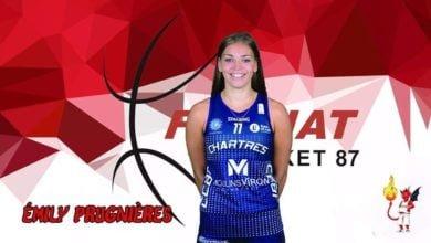 """Photo of Emily Prugnières : """"Un nouveau challenge m'attend à Feytiat et j'ai hâte de le démarrer avec ma nouvelle équipe !"""""""