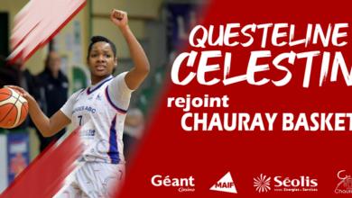 Photo of Questeline Celestin rejoint le BC Chauray !