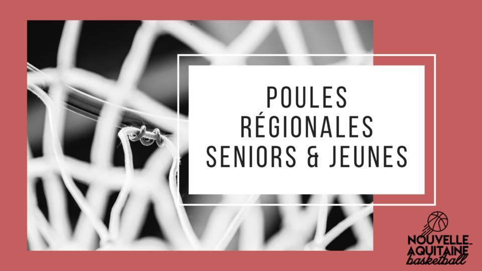 Ligue Nouvelle-Aquitaine : Poules Séniors et Jeunes ici !