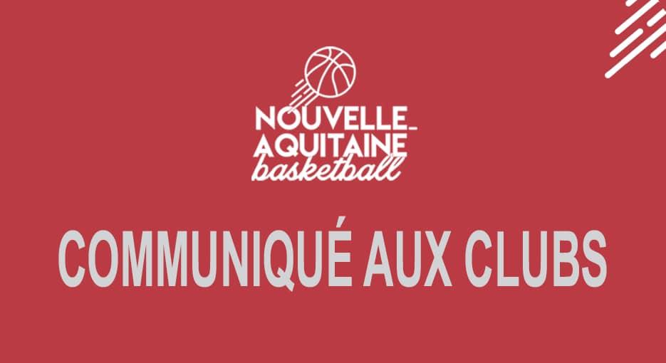 Les calendriers des championnats nationaux et régionaux en Nouvelle-Aquitaine ici !