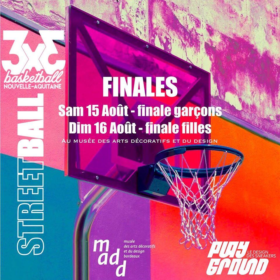 Finales 3×3 de Nouvelle-Aquitaine à Bordeaux ce week-end !
