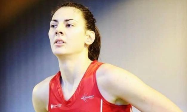 """Andra Ionescu : """"À l'âge de 16 ans, je suis partie de ma ville natale pour devenir basketteuse professionnelle et j'ai commencé à jouer en première ligue en Roumanie…."""""""