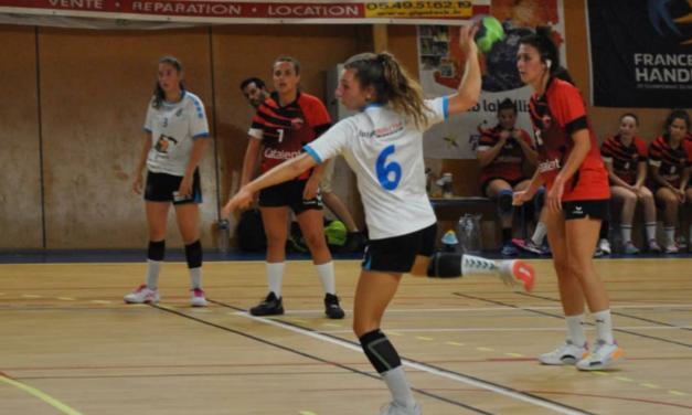 """Léa Duprat : """"Mon objectif dans le handball, jouer à un plus haut niveau…"""""""