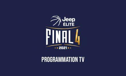 Les phases finales de la Jeep Elite à la T.V