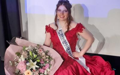 Cindy Rivas, 2ème demoiselle 2021 : «Ce titre représente l'espoir et la réussite….»