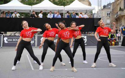 Samantha RG'DANCE : «On aime l'ambiance et au basket, le public est réceptif à nos prestations…»