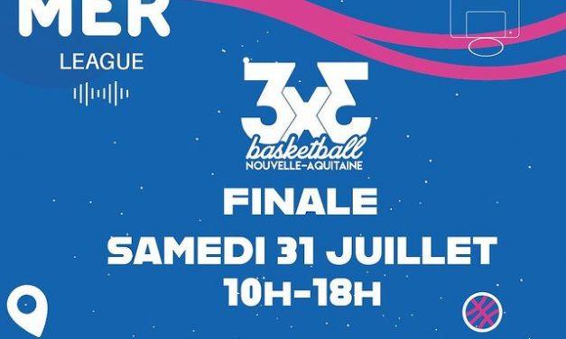 Finale de la Summer League 3×3, le samedi 31 juillet à Bordeaux !