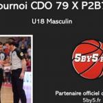 Tournoi 5by5 (U18M) à Parthenay, le samedi 30 octobre !